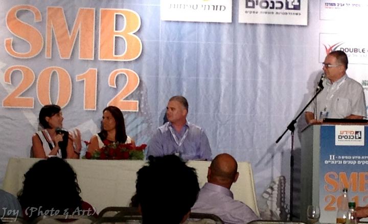 וועידה המרכזית לעסקים קטנים ובינוניים 2012 SMB. צילום: (Joy (Photo & Art